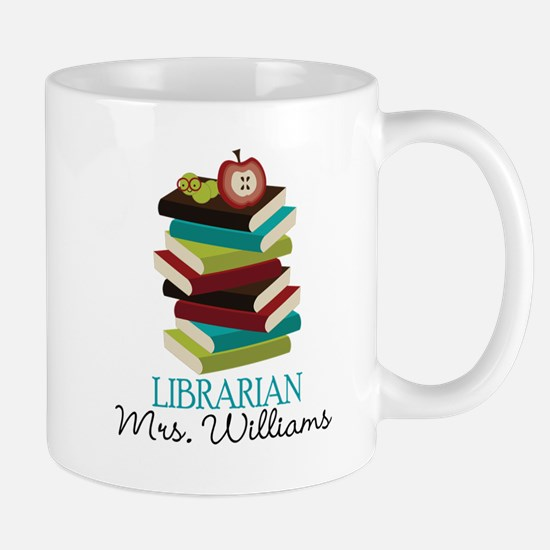 Cute Personalized Librarian Mugs