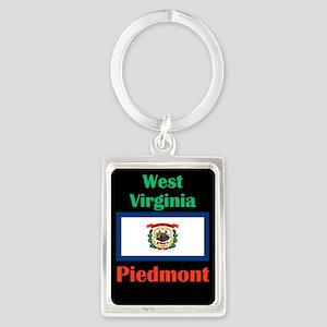 Piedmont West Virginia Keychains