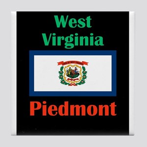 Piedmont West Virginia Tile Coaster