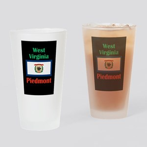 Piedmont West Virginia Drinking Glass