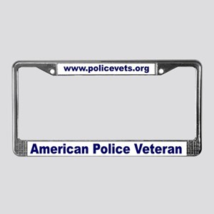 policevets License Plate Frame