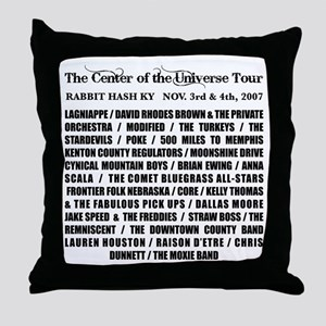 Benefit For Richard Young Throw Pillow