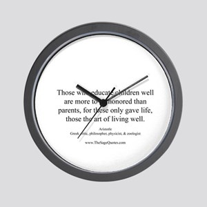 Teachers Wall Clock