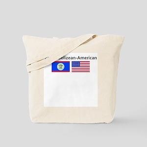 Proud Belizean American Tote Bag