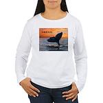 WHALE DREAMS Women's Long Sleeve T-Shirt