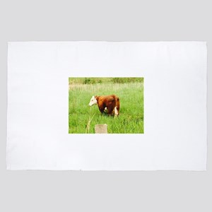 Grazing Cow 4Lilly 4' x 6' Rug