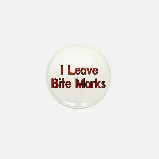 I Leave Bite Marks Mini Button