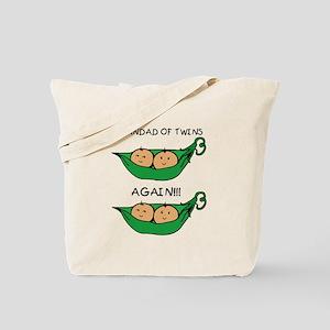 Grandad of Twins Again Tote Bag