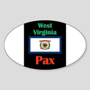 Pax West Virginia Sticker