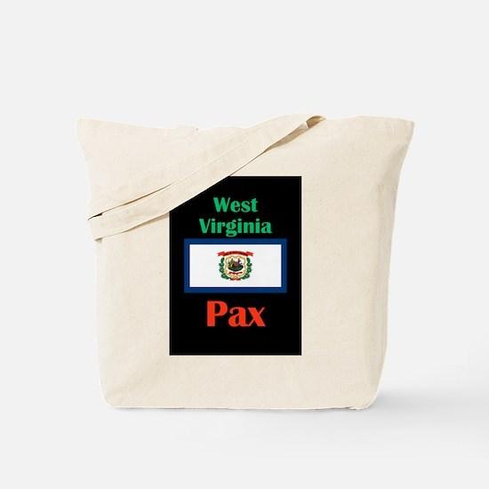 Pax West Virginia Tote Bag