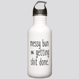 Messy Bun Stainless Water Bottle 1.0L