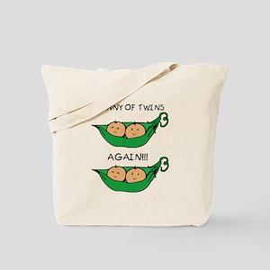Nanny of Twins Again Tote Bag