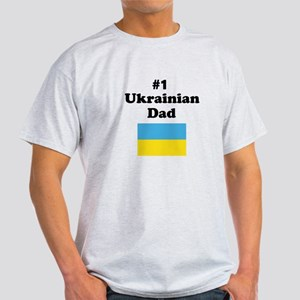 #1 Ukrainian Dad Light T-Shirt