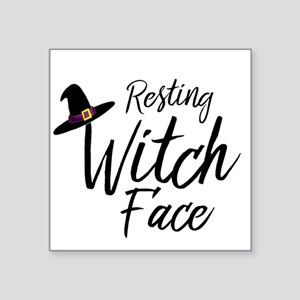 Witch Face Sticker