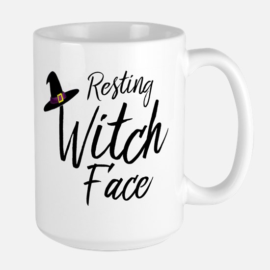 Witch Face Mugs
