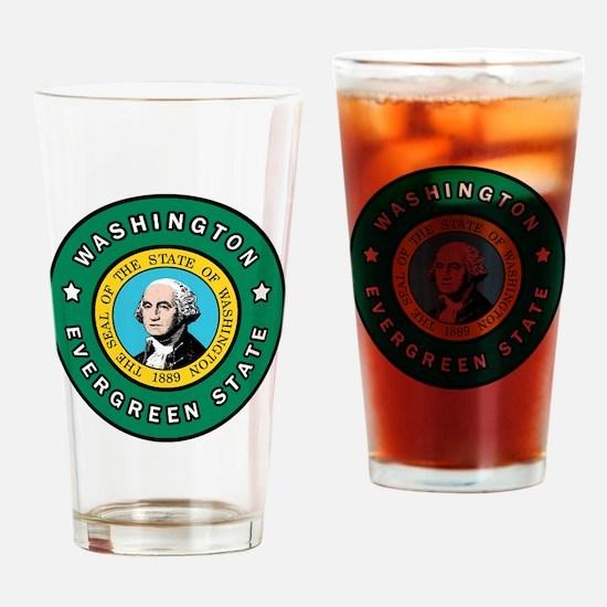 Cute Federal way pride Drinking Glass