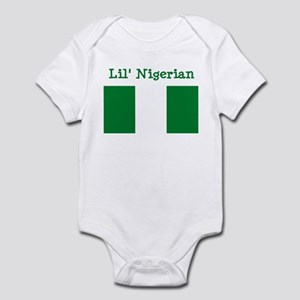 Nigerian Infant Bodysuit