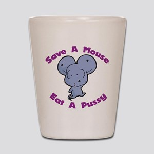 Save A Mouse Shot Glass