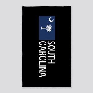 South Carolina: South Carolinian Flag & S Area Rug