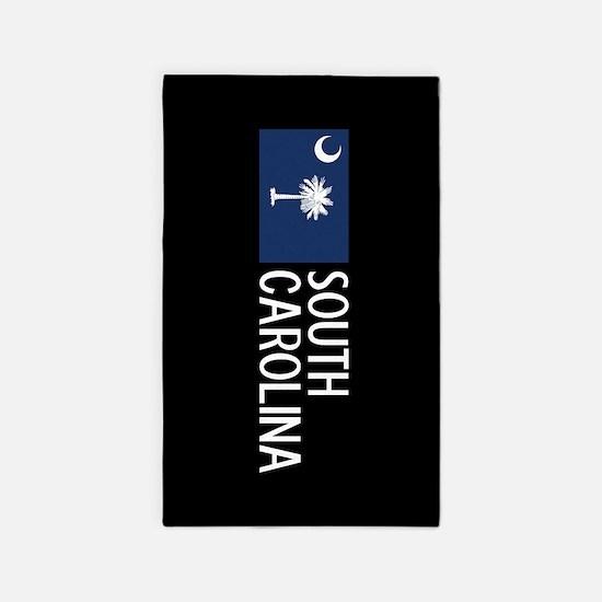 South Carolina: South Carolinian Flag & S Area Rug