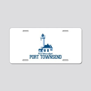 Port Townsend. Aluminum License Plate