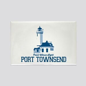 Port Townsend. Rectangle Magnet Magnets