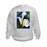calla lilly art deco flower print Jumpers