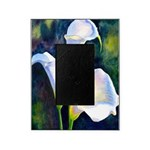calla lilly art deco flower print Picture Frame
