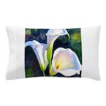 calla lilly art deco flower print Pillow Case