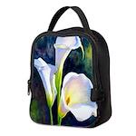 calla lilly art deco flower print Neoprene Lunch B