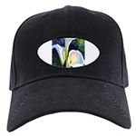 calla lilly art deco flower print Baseball Hat