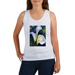 calla lilly art deco flower print Tank Top