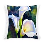 calla lilly art deco flower print Everyday Pillow
