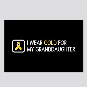 Childhood Cancer: Gold Fo Postcards (Package of 8)