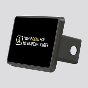 Childhood Cancer: Gold For Rectangular Hitch Cover