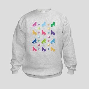 Golden Retriever Designer Kids Sweatshirt