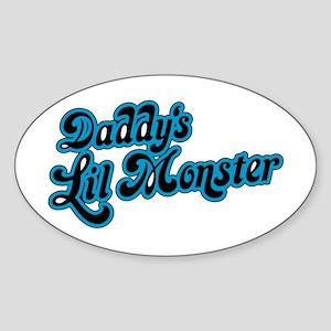 Inspiration Text - Daddy's Little Monster Sticker