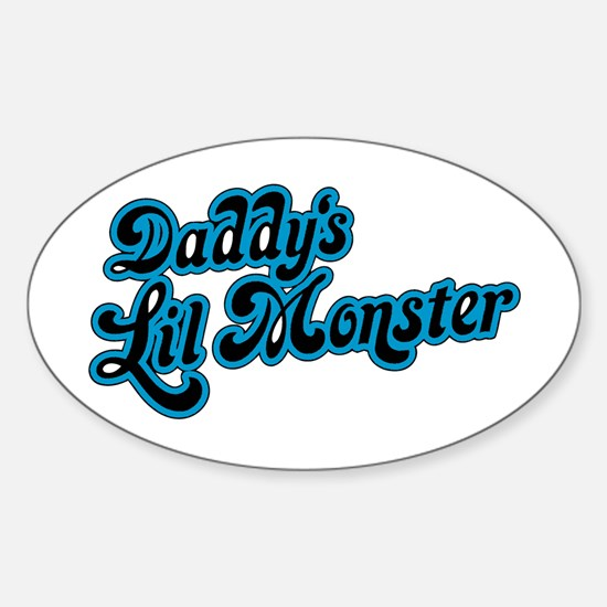 Inspiration Text - Daddy's Little Monster Stickers