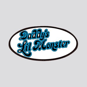 Inspiration Text - Daddy's Little Monster Bl Patch