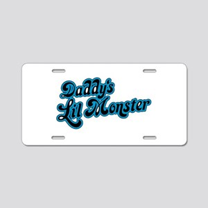 Inspiration Text - Daddy's Aluminum License Plate
