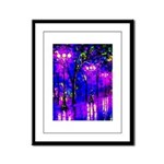 After The Rain Framed Panel Print