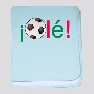 Ole - Football (Soccer) Chant baby blanket
