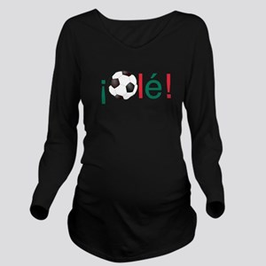 Ole - Football (Socc Long Sleeve Maternity T-Shirt