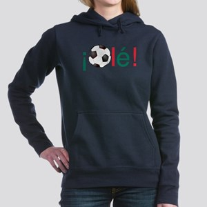 Ole - Football (Soccer) Women's Hooded Sweatshirt