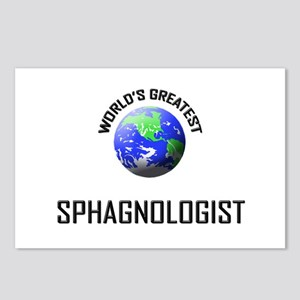 World's Greatest SPHAGNOLOGIST Postcards (Package