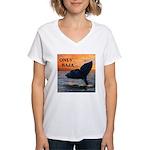 ONLY BAJA Women's V-Neck T-Shirt