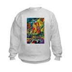 Grand Prix Auto Race Painting Print Jumpers