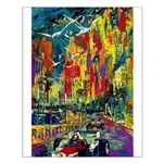 Grand Prix Auto Race Painting Print Small Poster