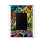 Grand Prix Auto Race Painting Print Picture Frame