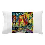 Grand Prix Auto Race Painting Print Pillow Case